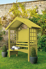 Dazzling Yellow Arbour Colour