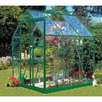 horticultural glass greenhouse