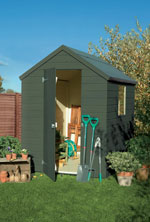Somerset Green Shed Colours