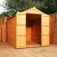 86 apex shiplap wooden shed